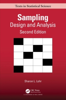 Sampling: Design and Analysis : Design and Analysis, Paperback / softback Book
