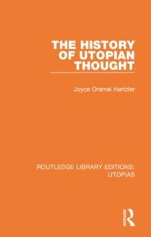 The History of Utopian Thought, Hardback Book
