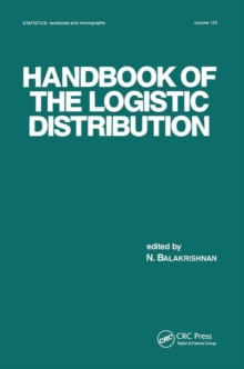 Handbook of the Logistic Distribution, Paperback / softback Book