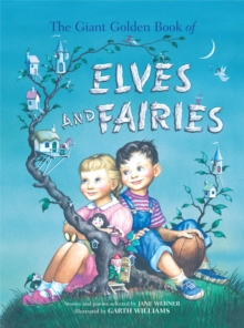Giant Golden Book of Elves and Fairies, Hardback Book