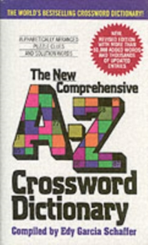 New Comprehensive A-Z Crossword Dictionary, Paperback / softback Book