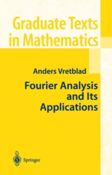 Fourier Analysis and Its Applications, Hardback Book