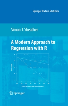 A Modern Approach to Regression with R, Hardback Book