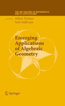 Emerging Applications of Algebraic Geometry, Hardback Book