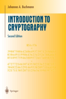 Introduction to Cryptography, Paperback / softback Book