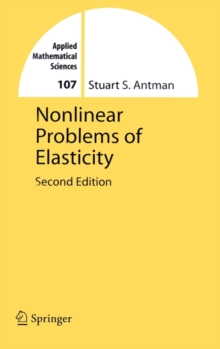 Nonlinear Problems of Elasticity, Hardback Book