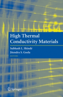 High Thermal Conductivity Materials, Hardback Book