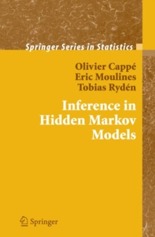Inference in Hidden Markov Models, Hardback Book