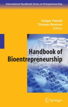 Handbook of Bioentrepreneurship, Hardback Book