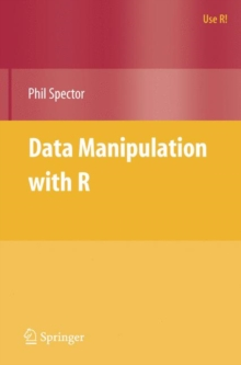 Data Manipulation with R, Paperback / softback Book