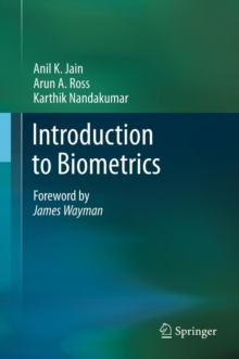 Introduction to Biometrics, Hardback Book