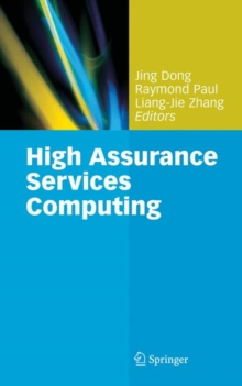 High Assurance Services Computing, Hardback Book