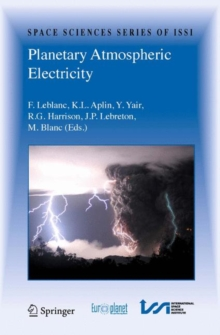 Planetary Atmospheric Electricity, Hardback Book