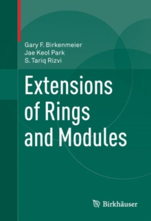 Extensions of Rings and Modules, Hardback Book