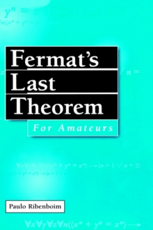 Fermat's Last Theorem for Amateurs, Hardback Book