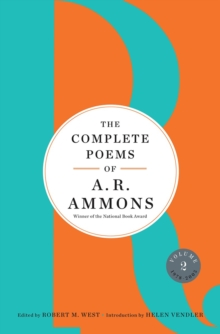 The Complete Poems of A. R. Ammons : Volume 2 1978-2005, Hardback Book