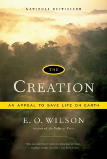 The Creation : An Appeal to Save Life on Earth, Paperback Book