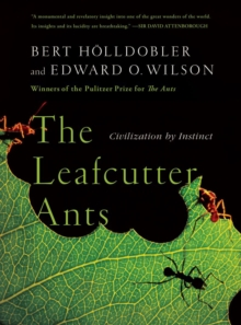 The Leafcutter Ants : Civilization by Instinct, Paperback / softback Book