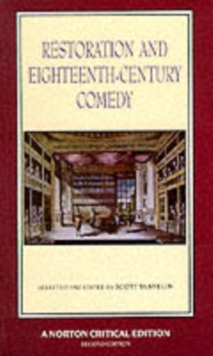 Restoration and Eighteenth-Century Comedy, Paperback Book