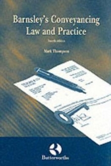 Barnsley's Conveyancing Law and Practice, Paperback / softback Book
