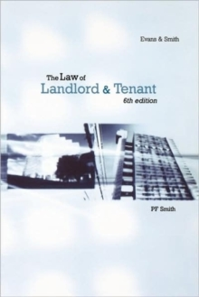 The Law of Landlord and Tenant, Paperback Book