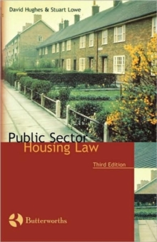 Public Sector Housing Law, Paperback / softback Book