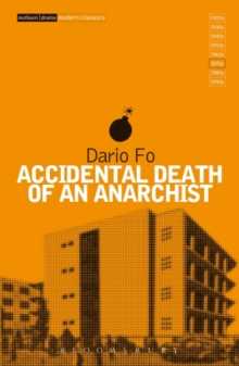 Accidental Death of an Anarchist, Paperback Book