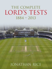 Complete Lord's Tests, Hardback Book