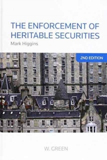 The Enforcement of Heritable Securities, Hardback Book