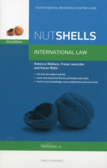 Nutshells International Law, Paperback Book