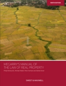 Megarry's Manual of the Law of Real Property, Paperback / softback Book