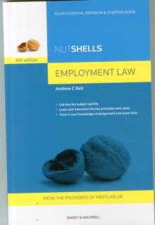 Nutshells Employment Law, Paperback Book