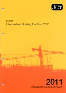 JCT: Intemediate Building Contract 2011, Paperback Book