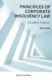 Principles of Corporate Insolvency Law, Paperback Book