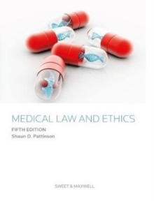 Medical Law and Ethics, Paperback / softback Book