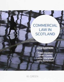 Commercial Law in Scotland, Paperback Book