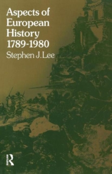 Aspects of European History : 1789-1980, Paperback Book