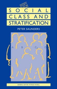Social Class and Stratification, Paperback / softback Book