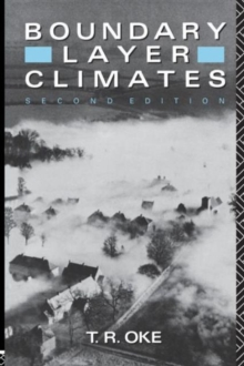 Boundary Layer Climates, Paperback Book
