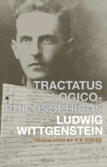 Tractatus Logico-Philosophicus : German and English, Paperback Book