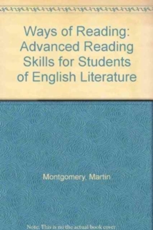 Ways of Reading : Advanced Reading Skills for Students of English Literature, Hardback Book