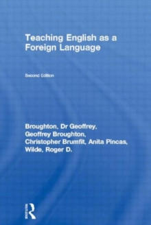 Teaching English as a Foreign Language, Paperback Book
