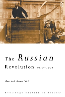 The Russian Revolution : 1917-1921, Paperback / softback Book