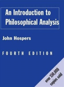 An Introduction to Philosophical Analysis, Paperback Book