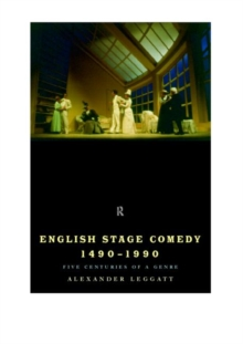 English Stage Comedy 1490-1990, Paperback Book