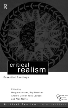 Critical Realism : Essential Readings, Paperback / softback Book