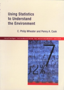 Using Statistics to Understand the Environment, Paperback Book