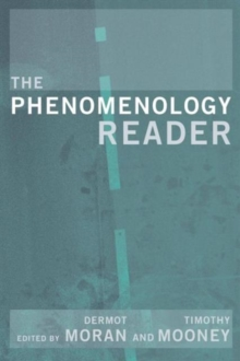 The Phenomenology Reader, Paperback Book