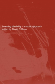 Learning Disability : A Social approach, Paperback / softback Book