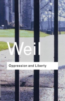 Oppression and Liberty, Paperback / softback Book